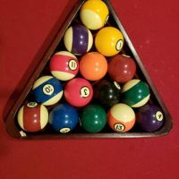 Pool Table With All The Extras
