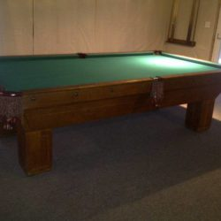 1904 Antique 9' Pool Table