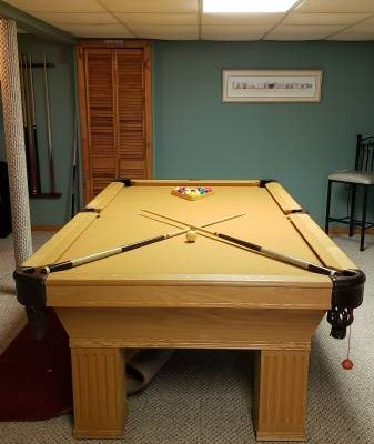 8 foot Slate Connelly Pool Table